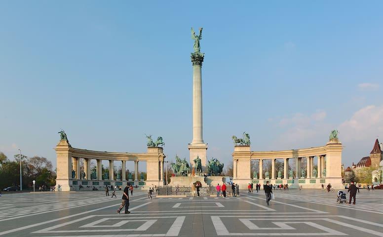 Extra Wohnung im Zentrum von Budapest 140m2