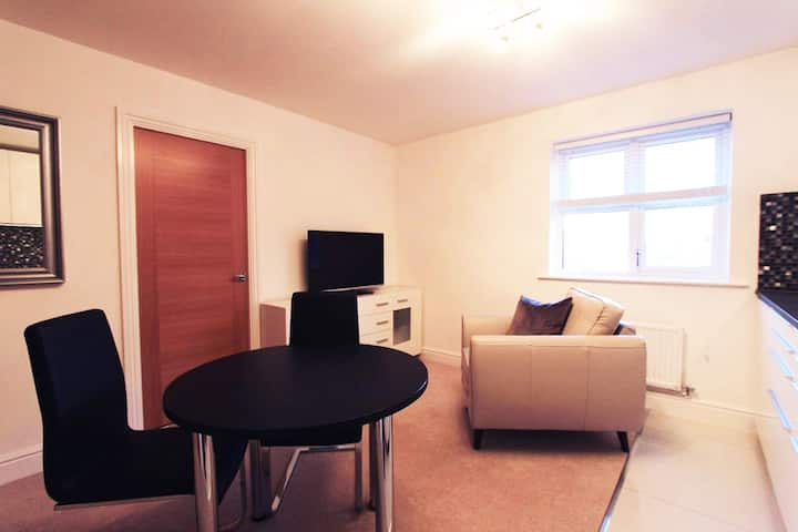 Luxury 1-bedroom Apartment near Heathrow