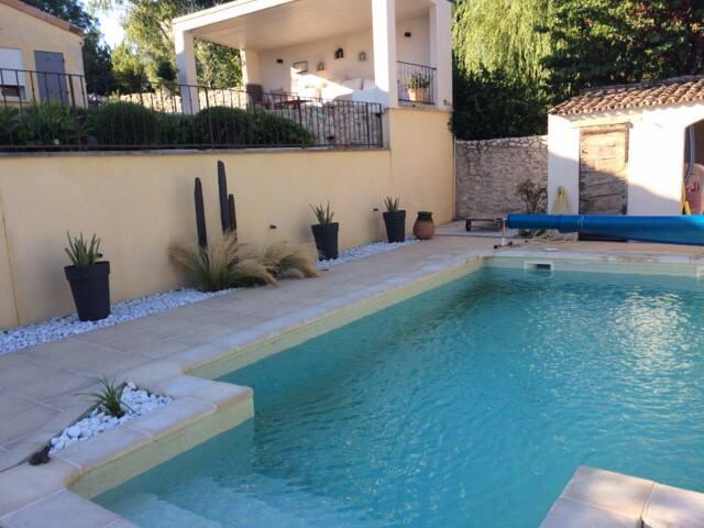 VILLA AU CALME, piscine chauffée - Saint-Péray - Villa