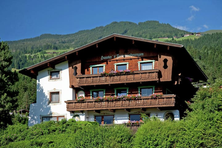 Alluring Apartment in Hart im Zillertal with Mountain View