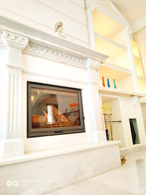 1st level fire place