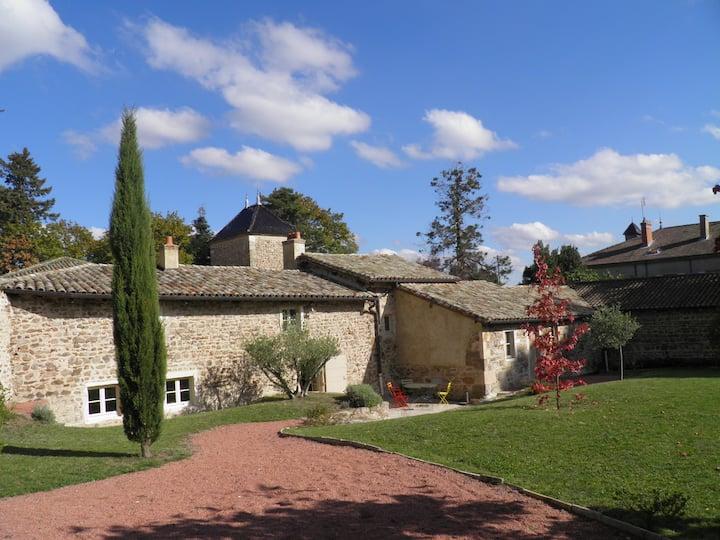 maison vigneronne dans le Beaujolais
