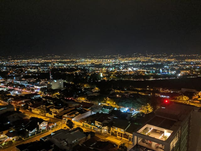 SKYVIEW of San Jose in the heart of the city