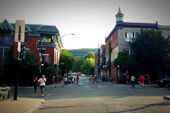 Au pied du Mont-Royal, Best spot in Montréal!