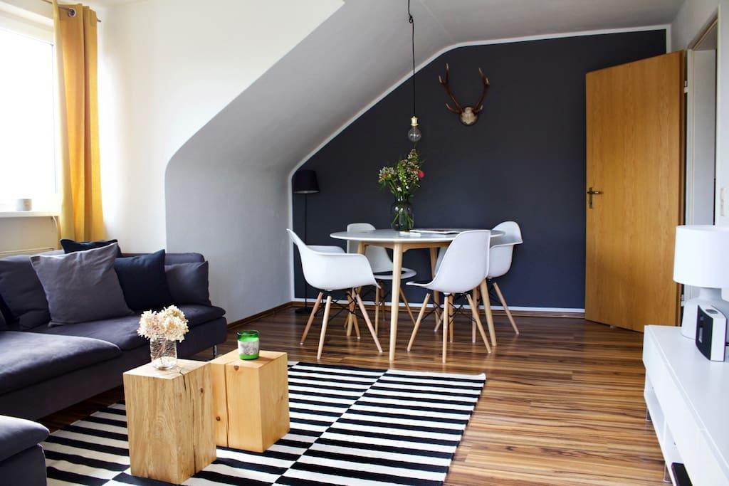 Gem tliches doppelzimmer in radolfzell am bodensee for Apartment bodensee
