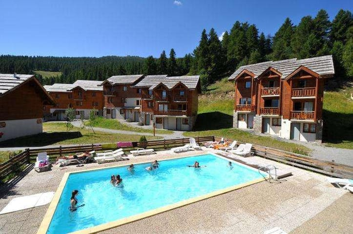 Location d'été à la montagne à Puy Saint Vincent - Puy-Saint-Vincent - Apto. en complejo residencial
