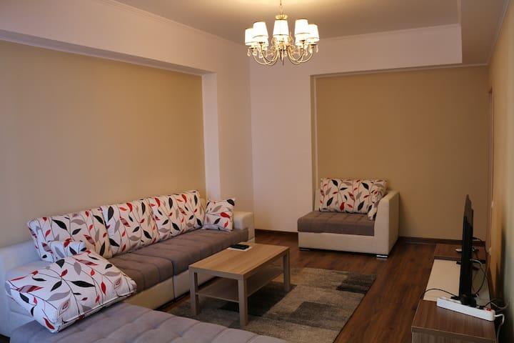 Уютные 2ух комнатные апартаменты - Bishkek - Apartament