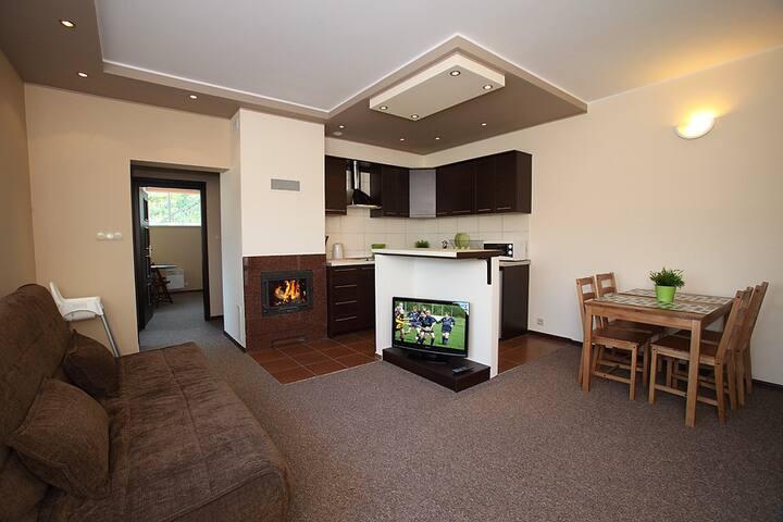 Apartamenty Złote Tarasy - Brodnica Dolna - Apartemen