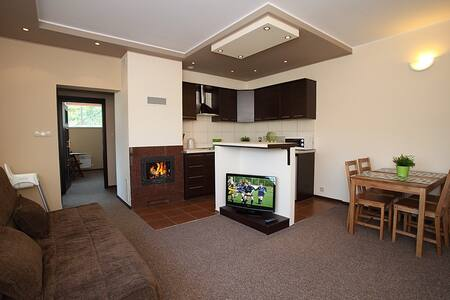 Apartamenty Złote Tarasy - Brodnica Dolna - Huoneisto