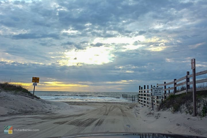 Beach home,sand roads,wild horses - Corolla - House