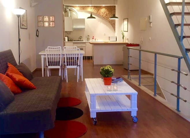 """Bocage"" Loft (Setúbal downtown)"