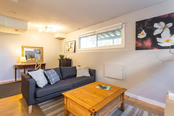 Private Basement. Mins to River, Parks, Pubs