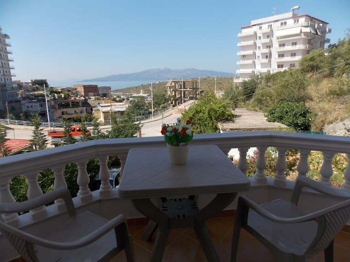 Relax Apts Saranda Apartment with Sea View