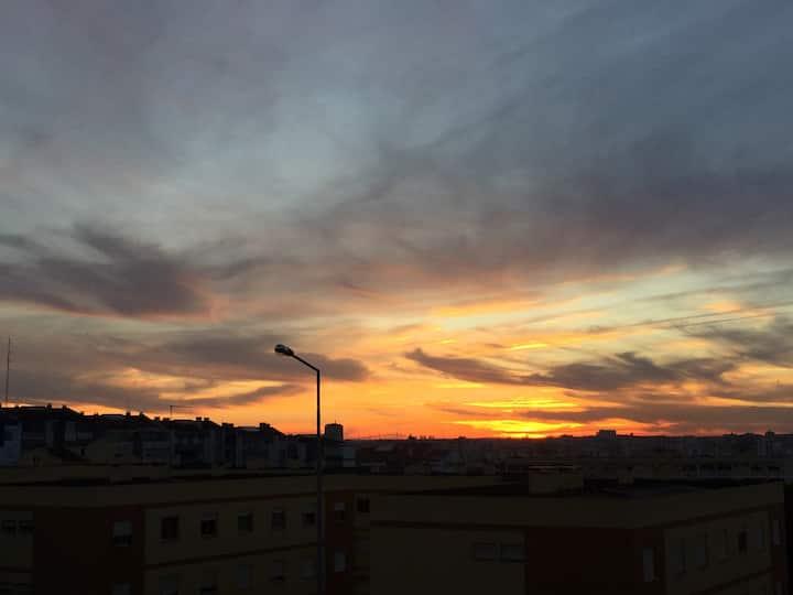 Visiting Portugal - Seixal -> Seeing Lisbon