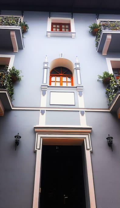 La Isabela Classical facade.
