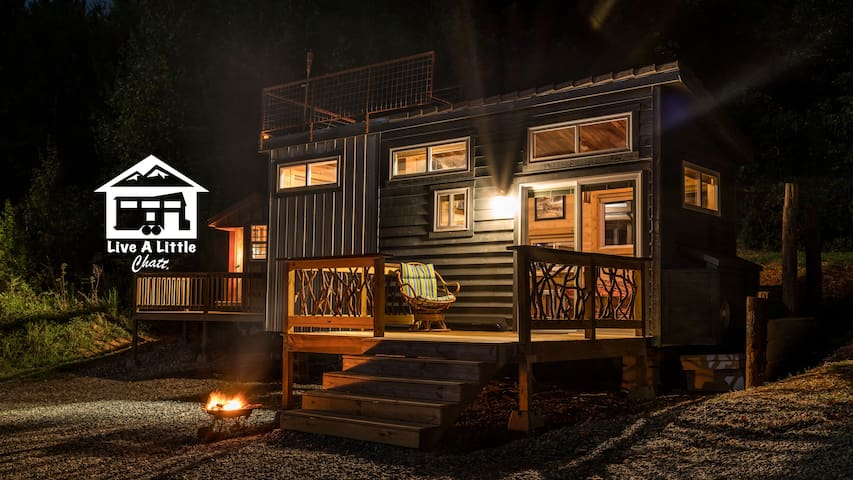 Shangri-Little Tiny House (Live A Little Chatt) - Rising Fawn - Rumah