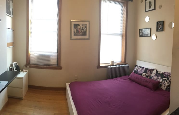 Cozy Sunny Private BR in Upper East Side - Нью-Йорк - Квартира
