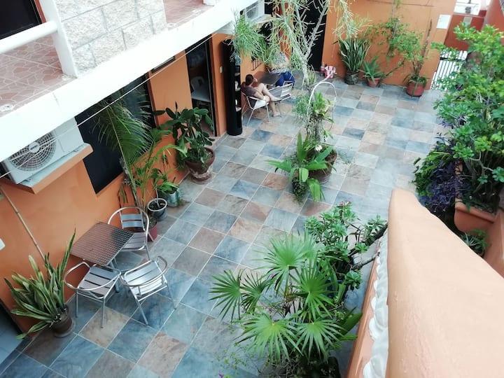 Hotel El Ultimo Maya. Akumal, Q. Roo
