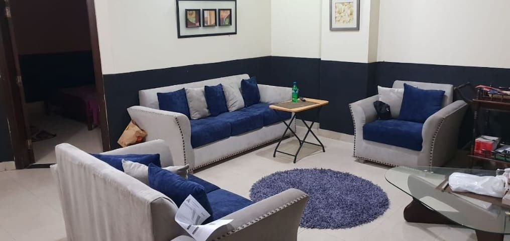 2 bed luxury apartment in dha near to the airport