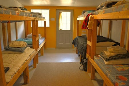Female Dorm Room in the Cloudcroft Hostel