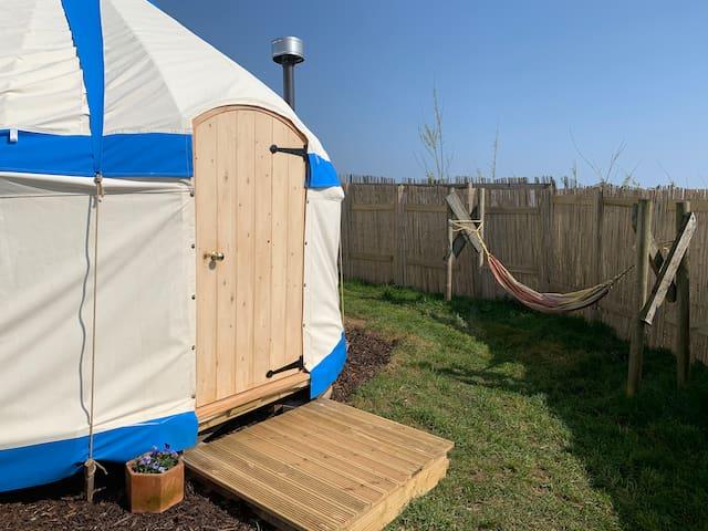 West kellow yurts in polperro