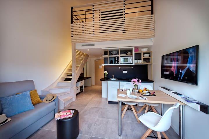 Charmant appartement T2 à Cabriès Plan de Campagne