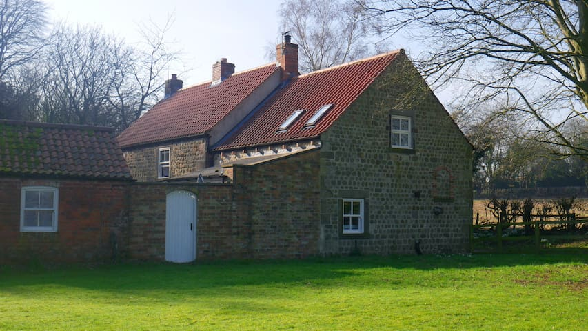 Brook House Cottage, near Harrogate in Yorkshire.