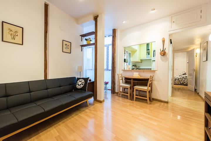 Charming, new, rustic 1 bdr apartment City Centre - Madrid