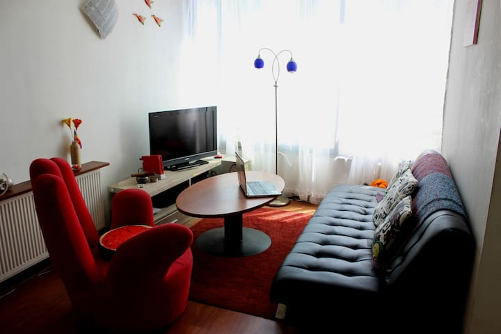 Central and bright appartment Santiago Centro