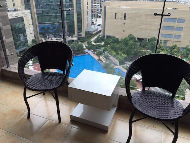 希尔顿公馆豪华酒店客房 - Heyuan - Apartamento com serviços incluídos