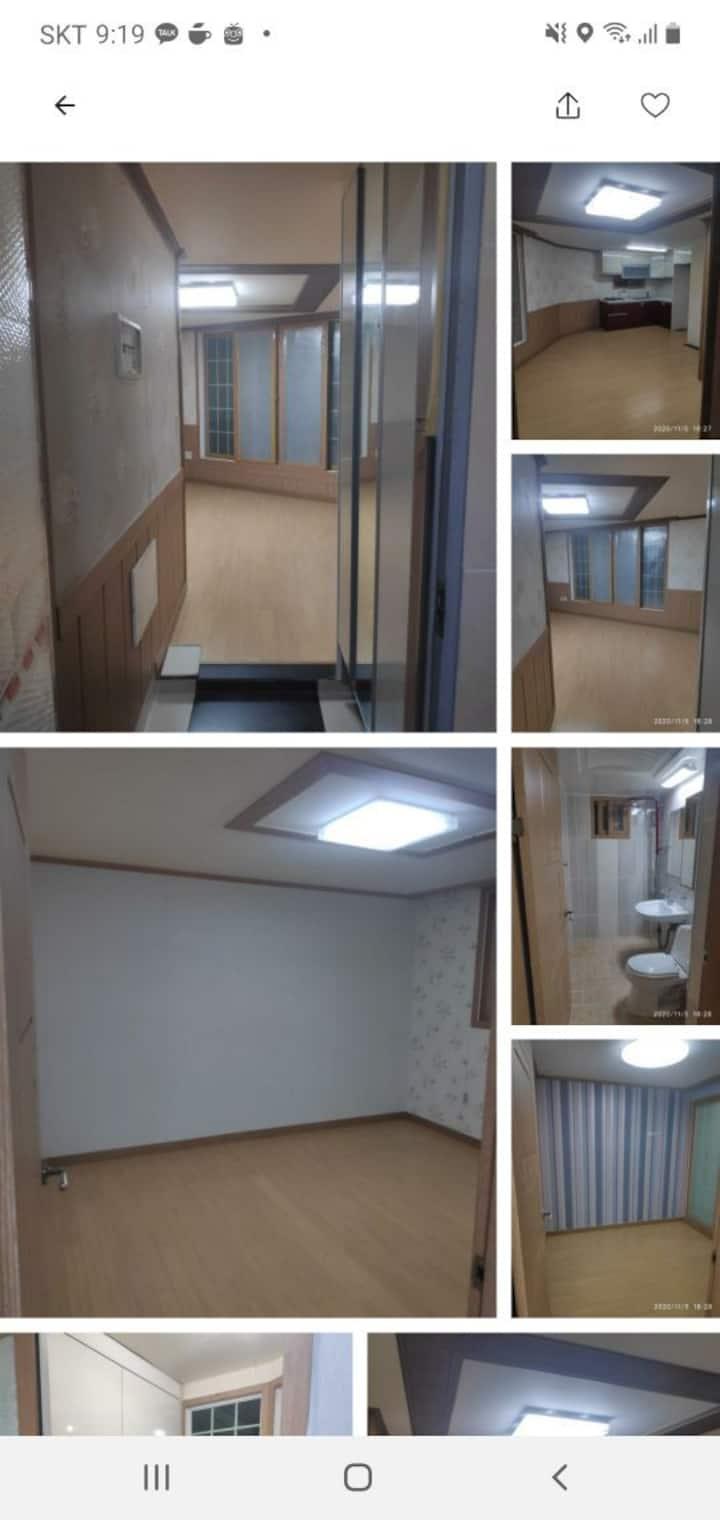 (자가격리 흡연O) 인천 언제든지 상담가능한방 투룸으로 2인 이상가능합니다.