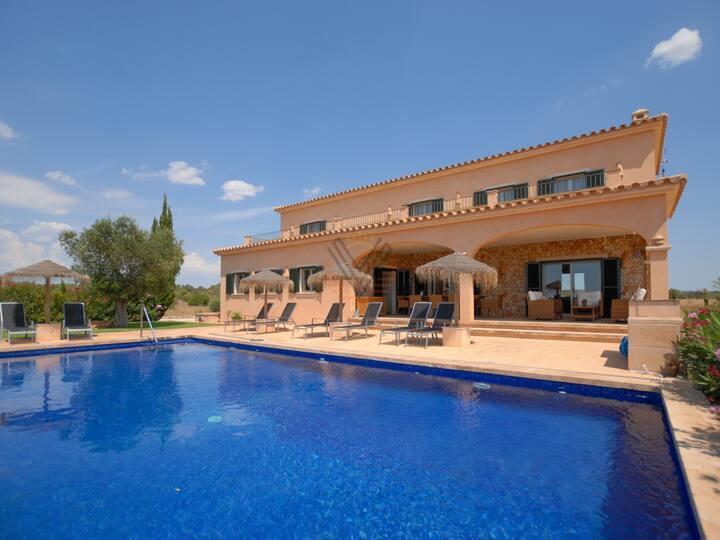 Es Vinyolet, Countryhouse in Campos, Mallorca