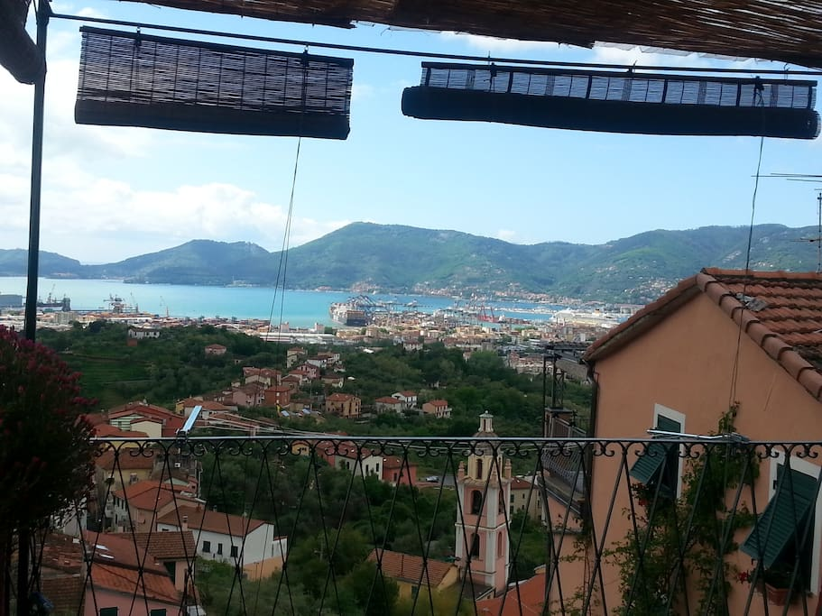 Panorama  view from terrace