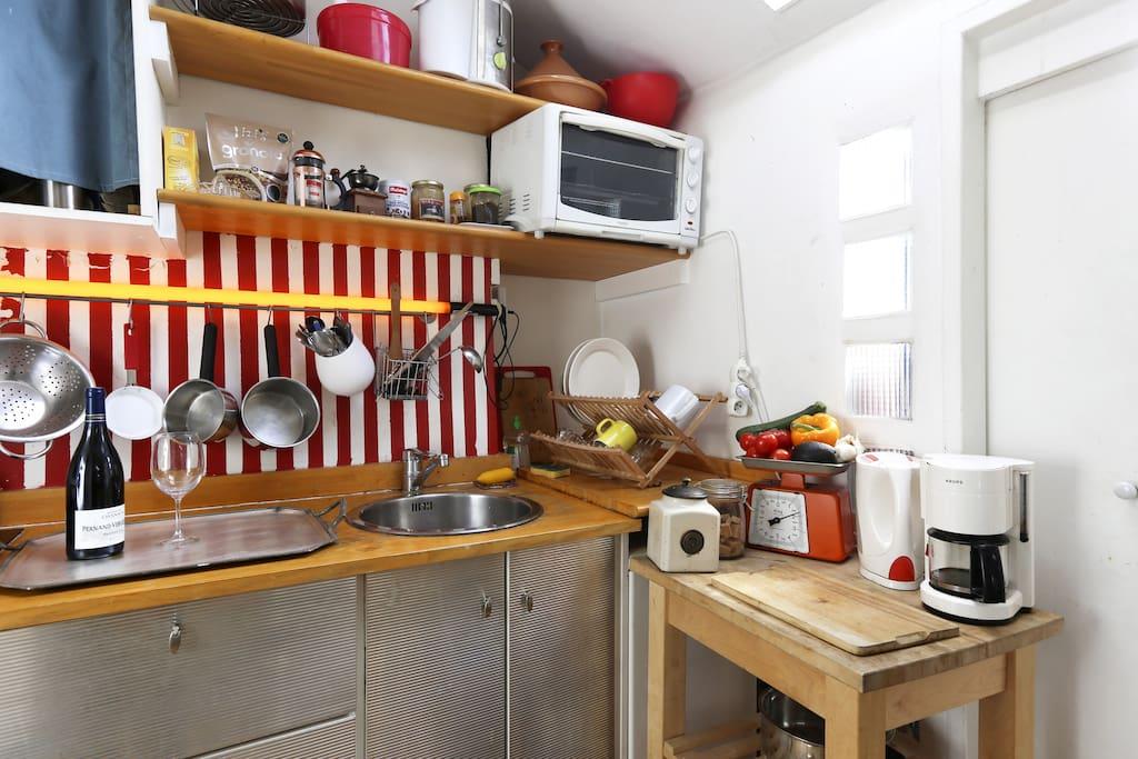 My cute little kitchen