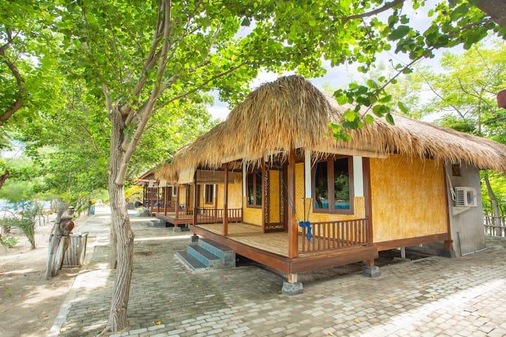 ☀ Private Island & Beach Cottage NO AC ☀ Coral