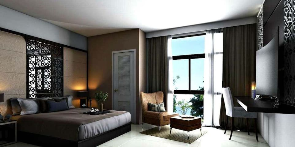 Fancy unit with balcony in Koh Lanta - Ko Lanta Yai - Apartament