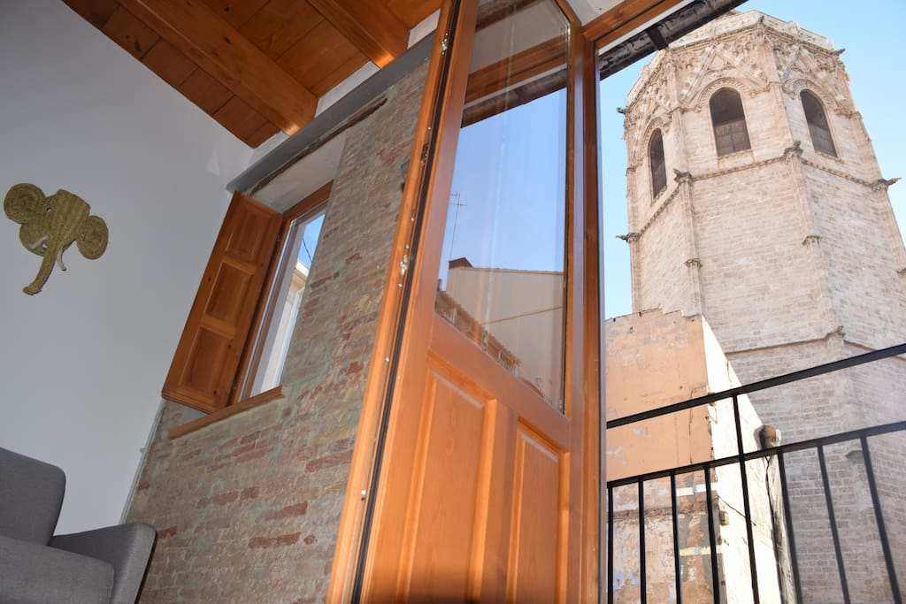 1micalet flats great loft oldtown lofts for rent in - Loft valencia ...