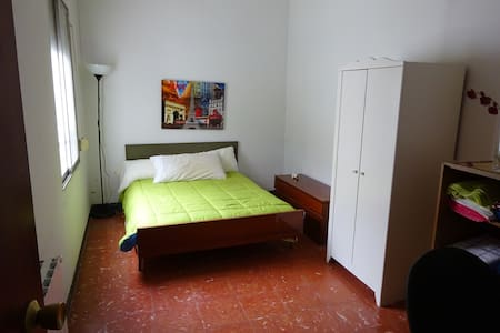Comfortable room in Sant Andreu - Apartamento