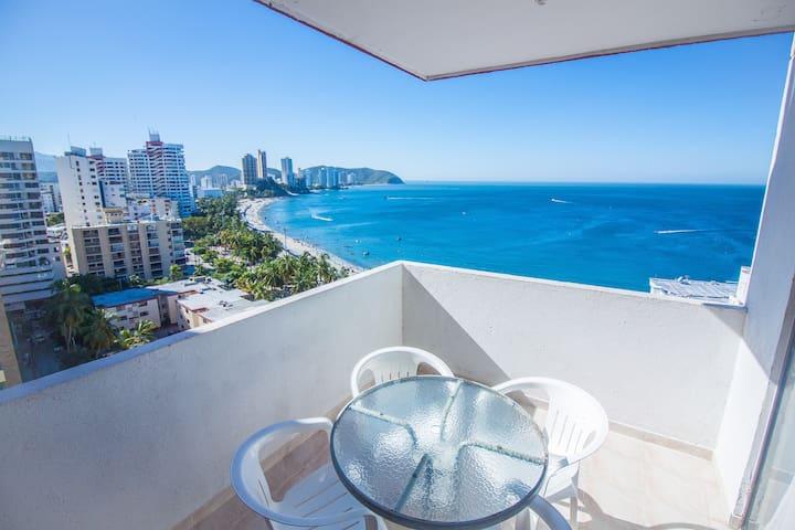 Apartamento para vacaciones en Santa Marta