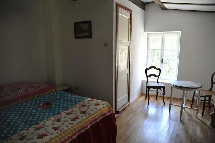 Kamer in gezellig boerenhuis, prive badkamer