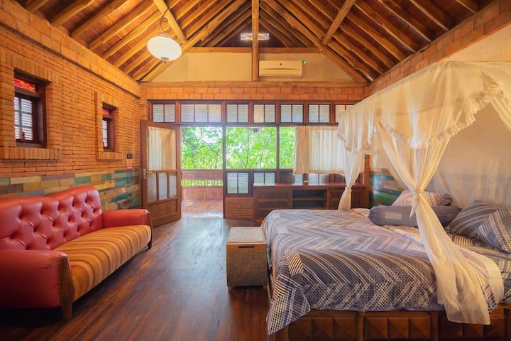 Java teak wood cottage *2