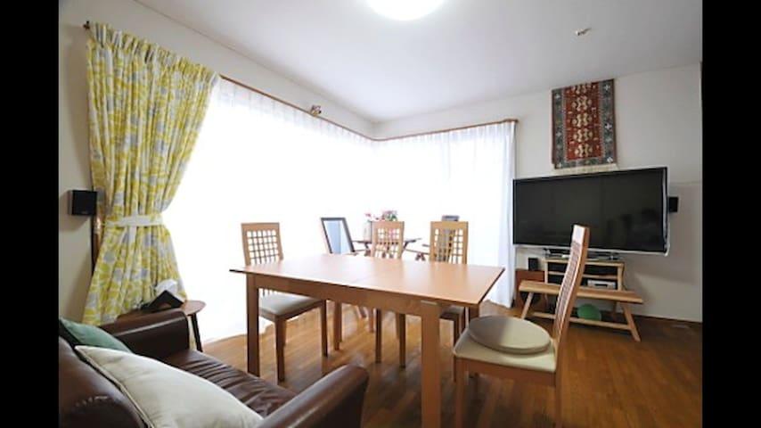 KS103: 高円寺駅徒歩7分シェアハウスの5.5畳のお部屋
