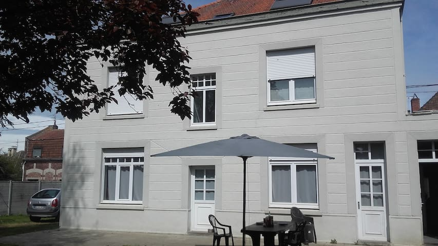 2 amazing bedrooms,10 mn from Lille