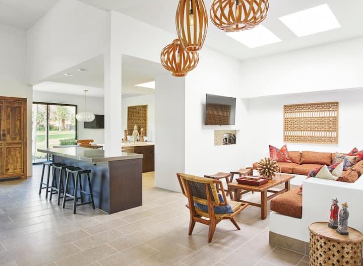 Luxurious Asian-Style Villa Nestled in La Quinta