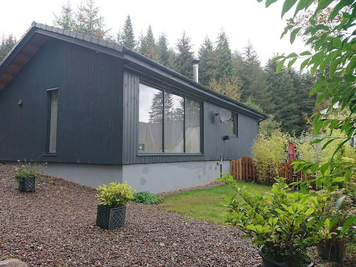 Loch Ness Country Lodge with partial Loch View