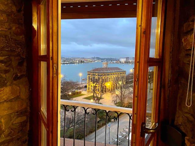 Piso con preciosas vistas.Gran Bilbao,Portugalete
