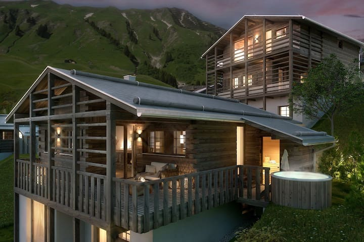 Aadla Walser-Chalet at the Arlberg for 6-8 persons
