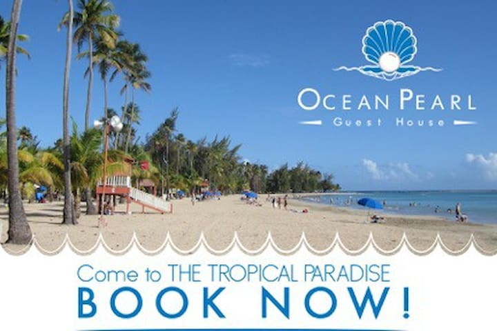 Beach Front Guest House #1 - Luquillo - Bed & Breakfast