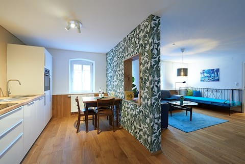Schöne Ferienwohnung in Künstlerhaus