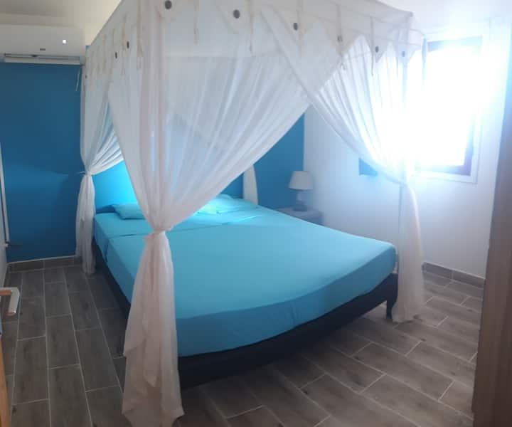 Chambre cosy vue sur mer